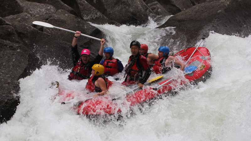 Come an experience one of the most exciting white water rivers in New Zealand with an exhilarating rafting expedition on the Grade 5 Wairoa River.