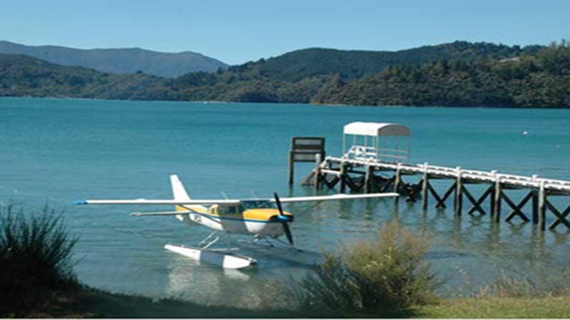 Picton: Marlborough Sounds 10 Minute Scenic Float Plane