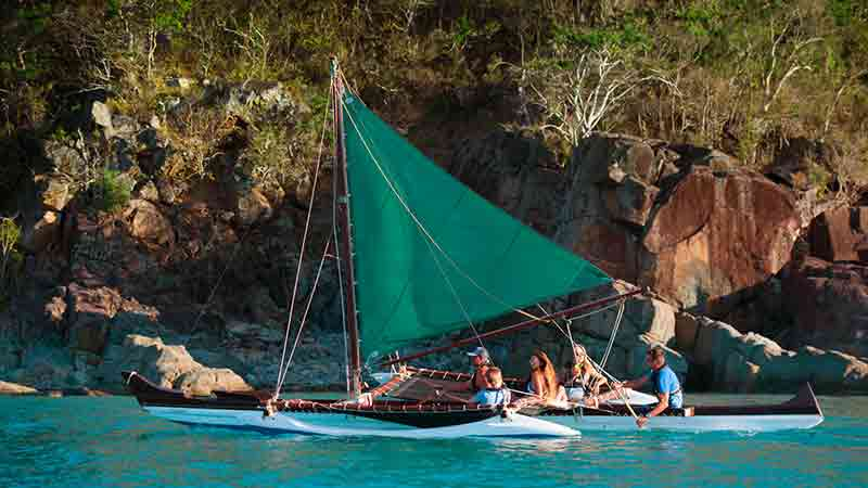 <p>Enjoy a half day guided sailing on the one-of-a-kind Outrigger Canoe Tour, the newest Adventure Tour to the Whitsundays!</p>