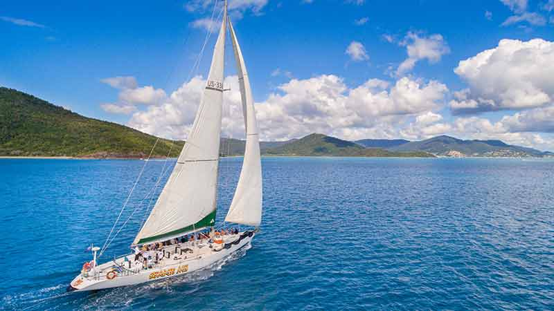 This 82ft maxi was built for speed! Catering for guests aged 18-35 years old, this is a great hands on sailing experience of the Whitsundays