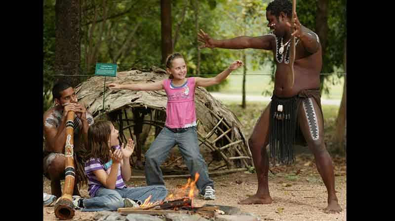 <p>Explore Tjapukai by day and experience the living history of the North Queensland rainforest people with over 16 engaging and interactive activities</p>
