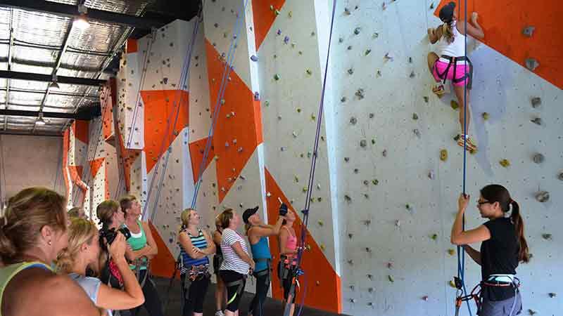 Rock climbing hervey bay