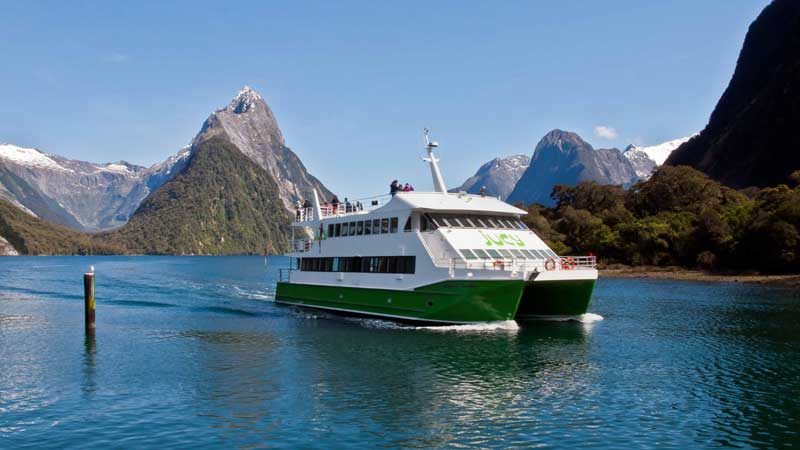 Discover the magnificent Milford Sound and immerse yourself in some of the worlds most breathtaking scenery while being treated to our famous JUCY service...