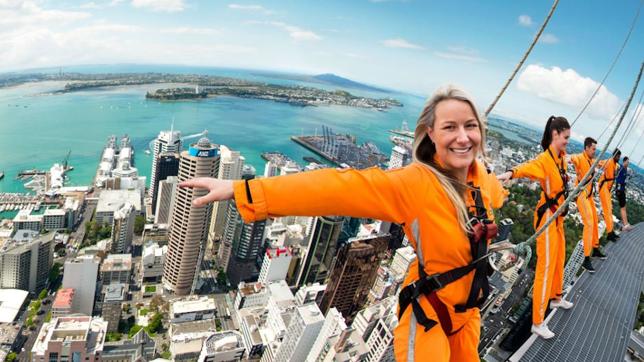 Auckland Skywalk AJ Hackett Bungy