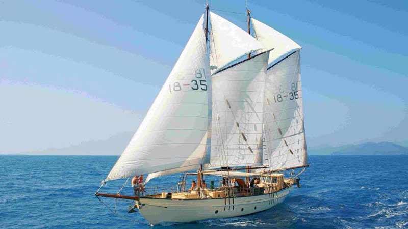 Whitsundays Sailing Day Trip - Derwent Hunter - Epic deals