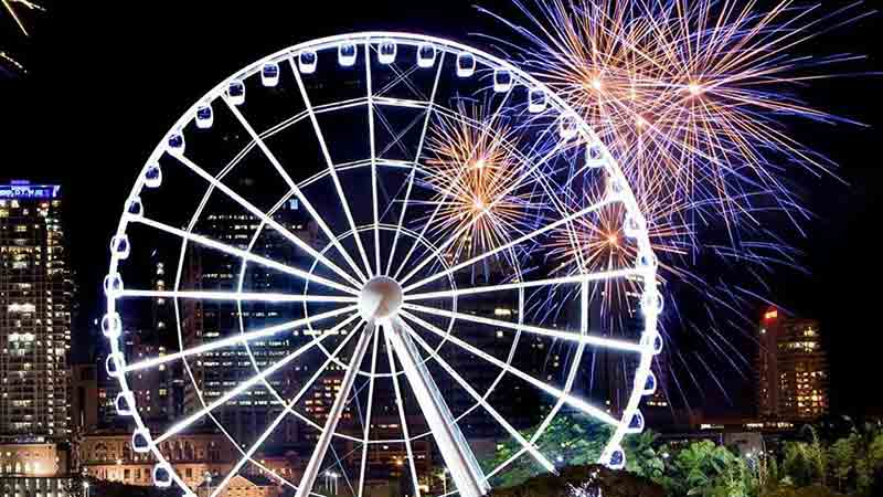 <p>Come along for the view! Take a look over the Brisbane CBD and river aboard The Wheel Of Brisbane. This is a must do attraction in Brisbane</p>