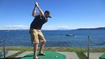 Hole in One Challenge - 50 Balls - Lake Taupo