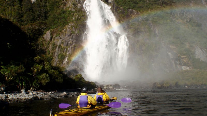 Embark on an epic paddling adventure discovering New Zealand's beautiful Fiordland from the water with Rosco's Kayaks...