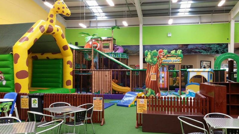 Let the kids loose in this bouncy, fun adventure park!