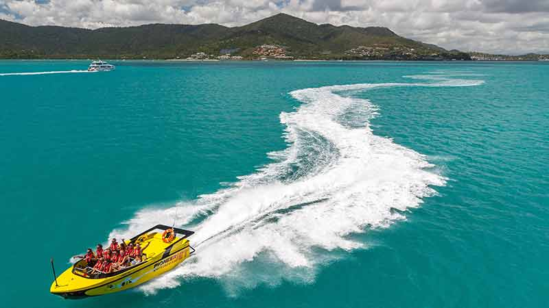Jet Boat Whitsundays