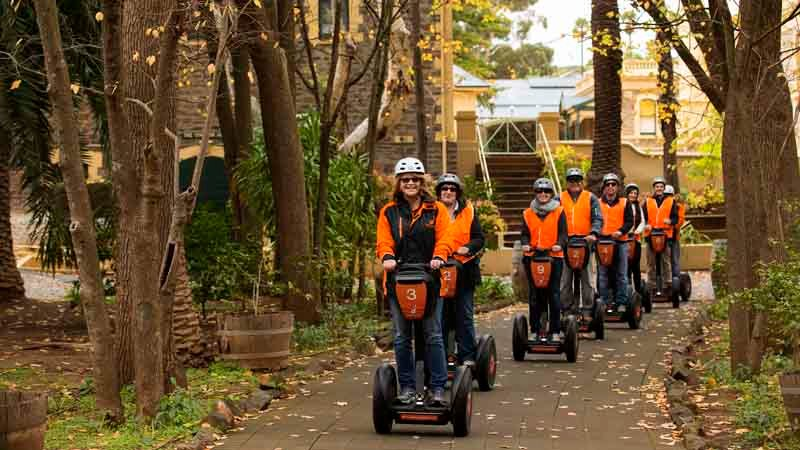 Have a 'wheelie' good time and discover the delights of Seppeltsfield on a fully guided Segway Tour!