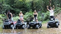 Rainforest and ATV Adventure - Half Day Tour