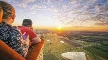 Hunter Valley Balloon Flight - 1 hr Sunrise Flight with Gourmet Champagne Breakfast