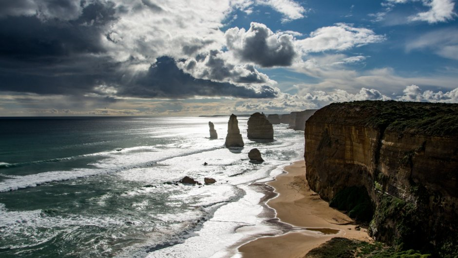 Tour the Great Ocean Road and finish the day watching the sunset behind the 12 Apostles!