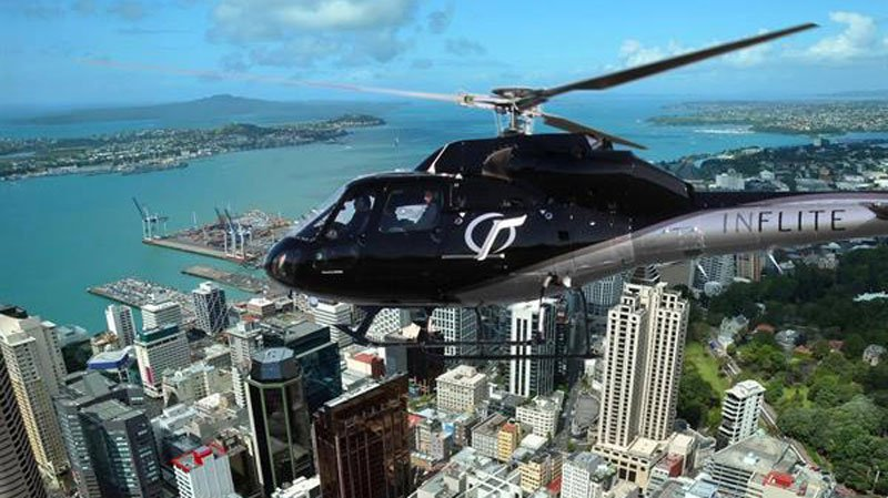 INFLITE Helicopter Transfer - Auckland CBD to Waiheke Island