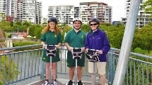 Roma Street Parkland X Wing Mini Segway Tour - 45 OR 75 Minute Experience