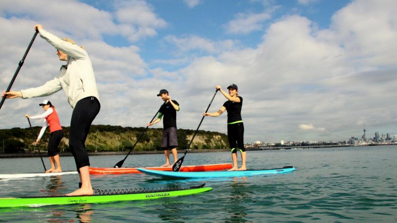 Stand up paddle boarding (SUP) is the ultimate activity! A unique combo of fun and fitness on the water, with a sense of relaxation and freedom to explore.