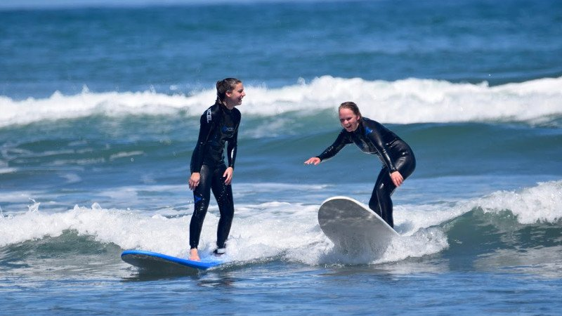 Our internationally qualified instructors are extremely experienced and passionate about surf and provide second-to-none advice and coaching during lessons
