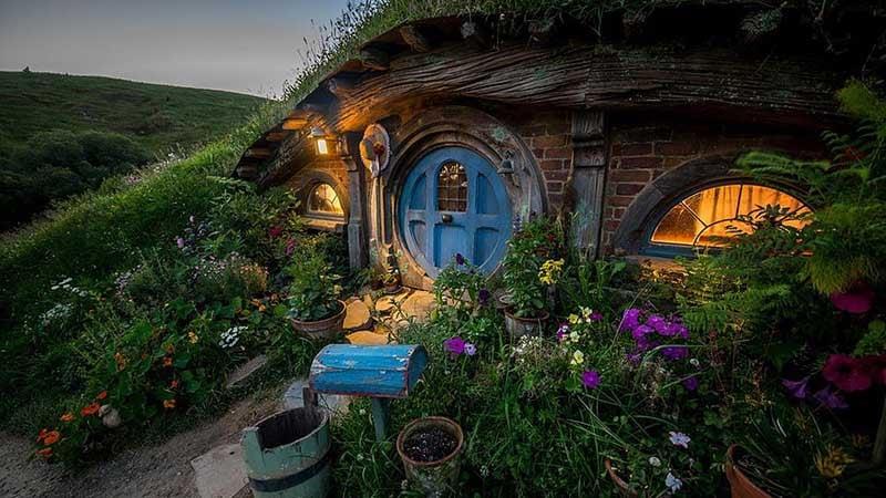 Image result for hobbiton movie set