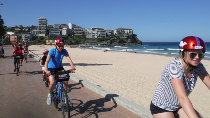 Sydney self guided bike  tour
