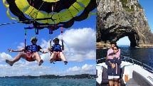 Parasail and Hole in the Rock Combo - Bay of Islands