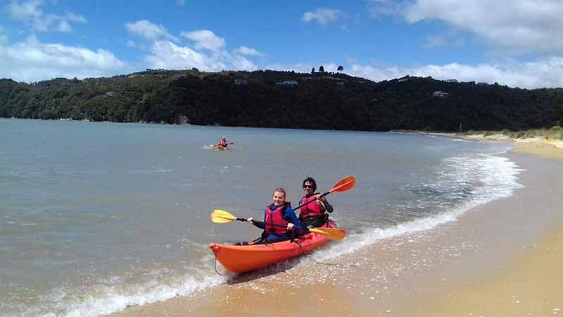 Experience true freedom and the sheer tranquillity of the stunning Abel Tasman National Park and hire a Sit on Top Kayak!