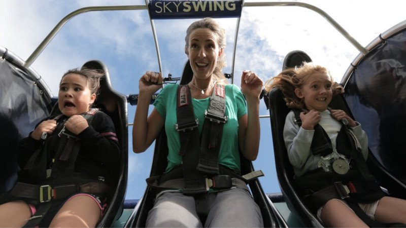 Experience 4 thrilling attractions at the Iconic Skyline Rotorua with a Half Day Adventure Pass!