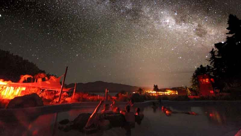 Join us for a magical stellar evening with New Zealand's only guided hot pools and star gazing experience.