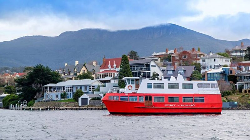 Relax and enjoy exceptional service as you discover the vibrant Hobart city by water aboard our 'Spirit of Hobart' vessel…