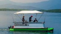 Pontoon Boat Hire - Full Day for up to 8 people - Cairns