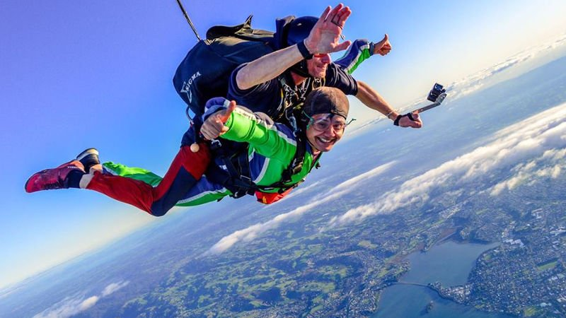 Get the ultimate thrill as you soak up some of the best views in New Zealand above Tauranga with our highest skydive from 12,000ft!
