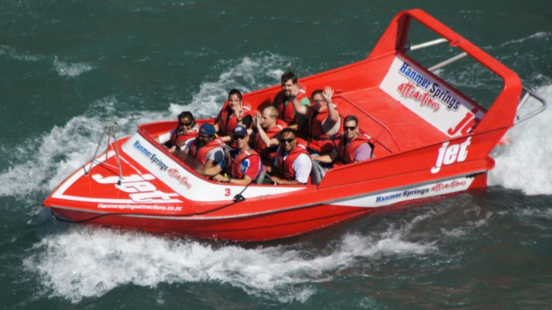 Hanmer Springs Attractions Jet Boat