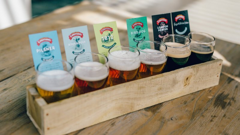 Emersons Brewery Tasting Tray Epic Deals And Last Minute Discounts