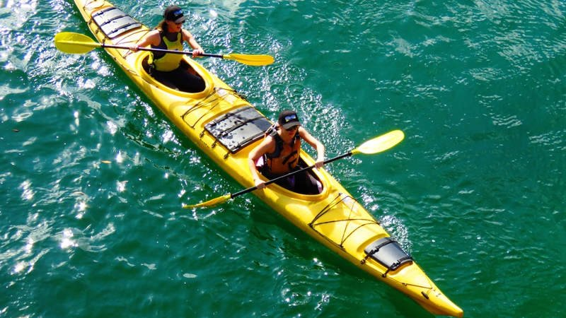 Explore the stunning waters of Sydney at your own pace as you glide along in a premium single or double kayak...