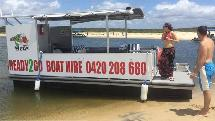 Pizza & BBQ Pontoon Boat Hire - Noosaville