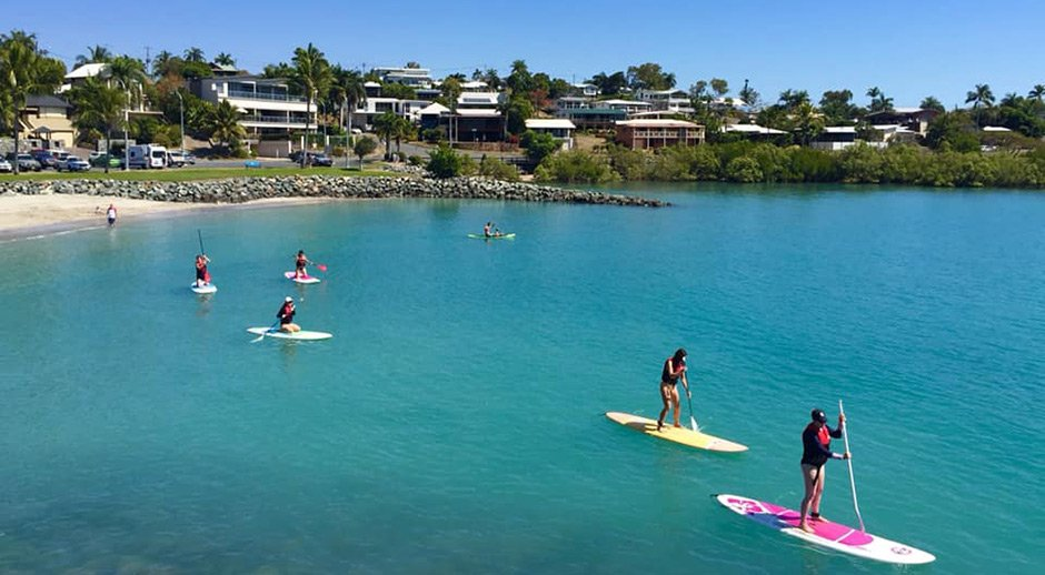 Stand up paddle hire Whitsundays