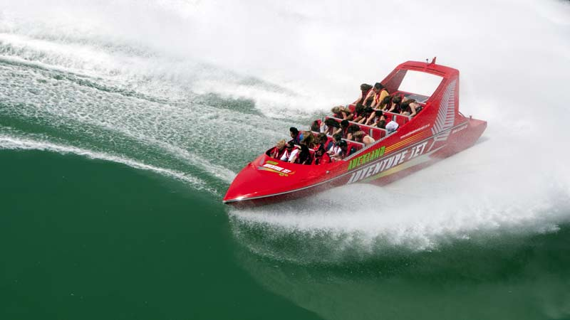 Jet Boat Ride Auckland Adventure Jet