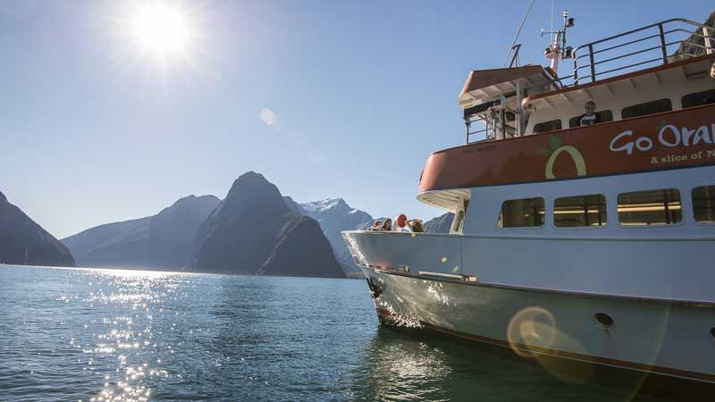 Go Orange Milford Sound Cruise Best Price Cruise Deals - Milford cruise in car show