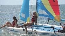 Catamaran Hire - 1 Hour Self Sailing - Hervey Bay